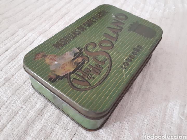 Cajas y cajitas metálicas: Caja metal Pastillas Café y Leche Viuda de Solano - Foto 4 - 133408875
