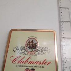 Cajas y cajitas metálicas: CAJA METAL VACIA - CLUB MASTER - CAR106. Lote 133677594