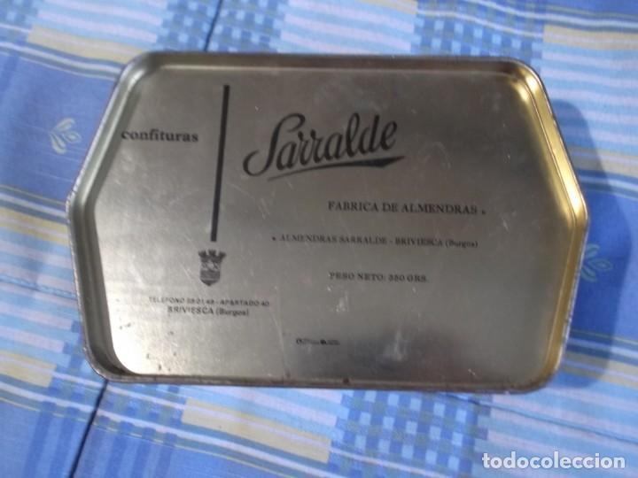 Cajas y cajitas metálicas: CAJA CHAPA ALMENDRAS BRIVIESCA - Foto 3 - 134325126