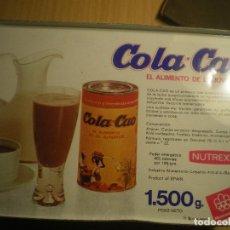 Cajas y cajitas metálicas: CAJA COLA CAO. Lote 134341370