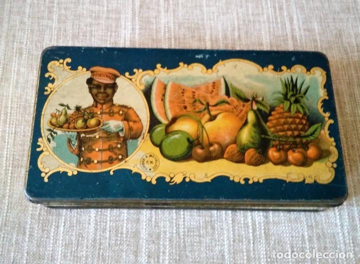 ANTIGUA CAJA DE METAL (Coleccionismo - Cajas y Cajitas Metálicas)
