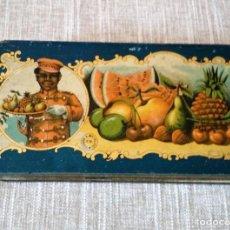 Blechdosen und Kisten - ANTIGUA CAJA DE METAL - 134545930