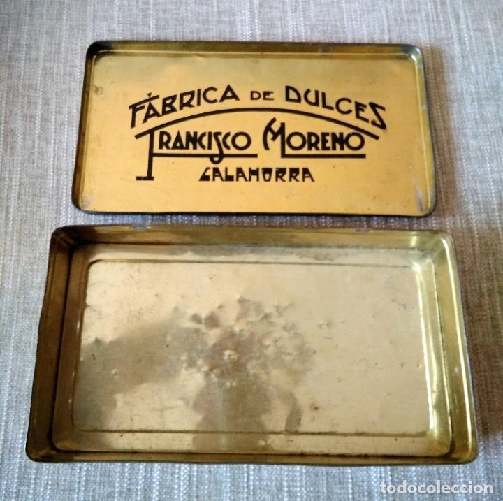 Cajas y cajitas metálicas: ANTIGUA CAJA DE METAL - Foto 2 - 134545930