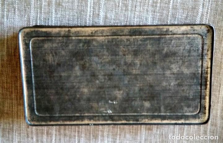 Cajas y cajitas metálicas: ANTIGUA CAJA DE METAL - Foto 3 - 134545930