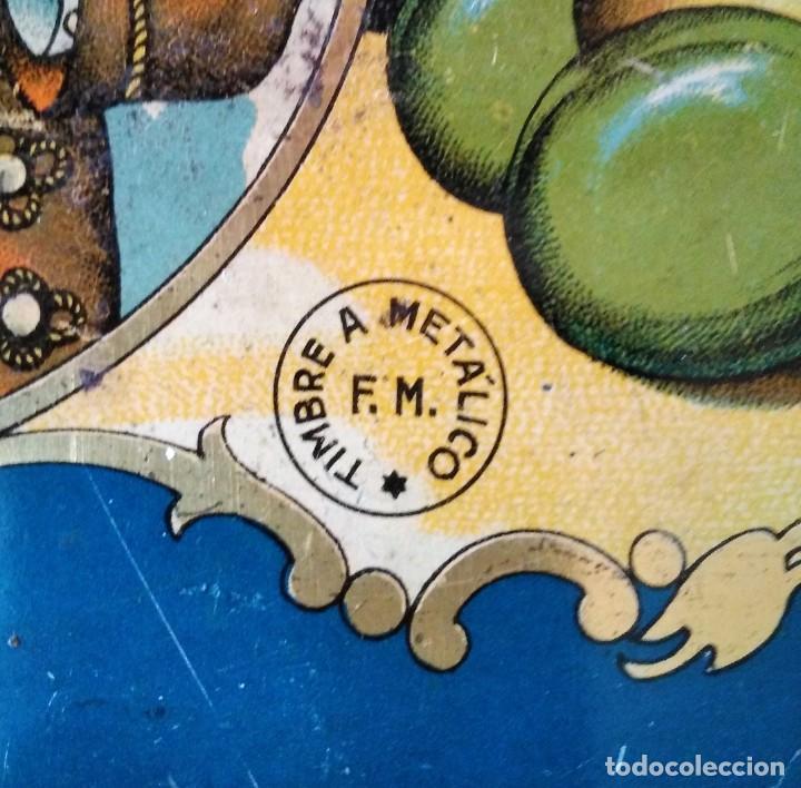 Cajas y cajitas metálicas: ANTIGUA CAJA DE METAL - Foto 7 - 134545930