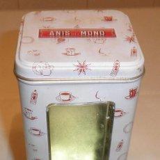 Cajas y cajitas metálicas: CAJA METALICA GALLETAS DE GATO ANIS DEL MONO. Lote 134932434