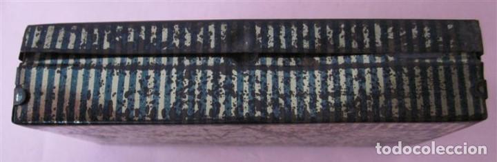 Cajas y cajitas metálicas: Caja pasta pectoral infalible contra toda clase de TOS - Con algún pequeño oxido - Foto 3 - 135167026