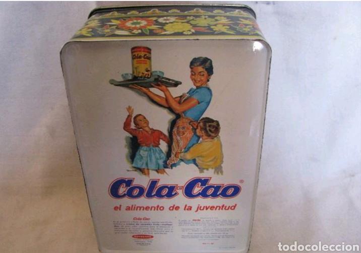 Cajas y cajitas metálicas: Caja de Cola Cao - Foto 2 - 135855717