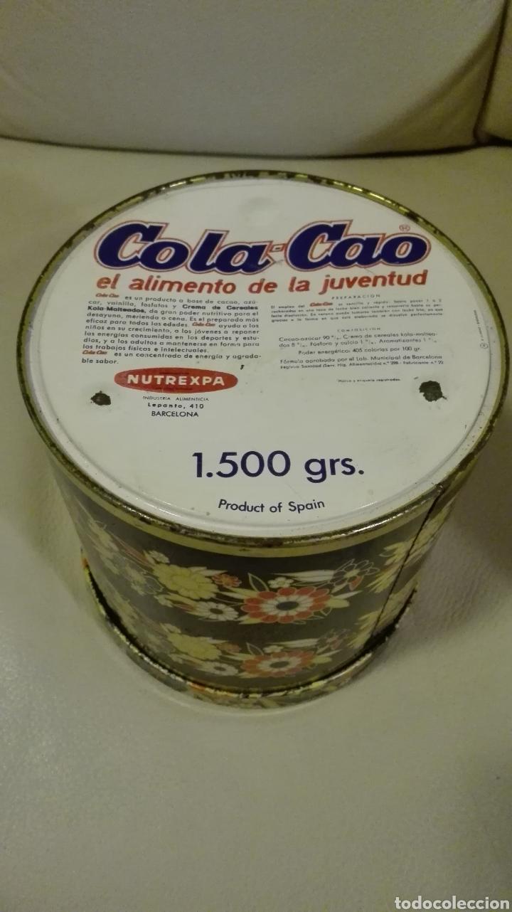 Cajas y cajitas metálicas: Caja de Cola Cao - Foto 3 - 135855757