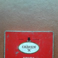 Cajas y cajitas metálicas: CAJA DE CIGARROS GRAVEN A. Lote 135855943