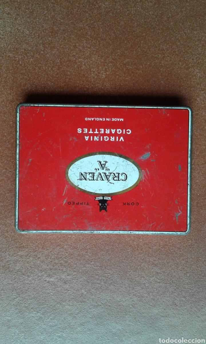 Cajas y cajitas metálicas: Caja de cigarros GRAVEN A - Foto 2 - 135855943