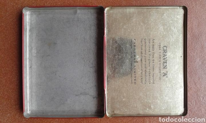 Cajas y cajitas metálicas: Caja de cigarros GRAVEN A - Foto 3 - 135855943