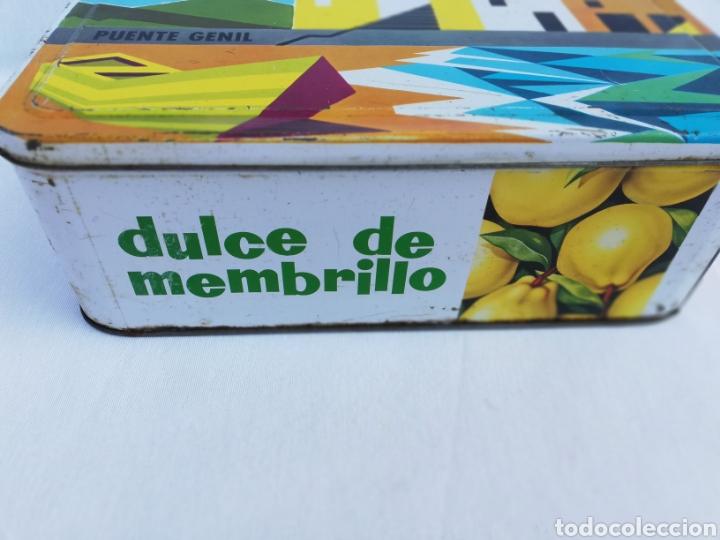 Cajas y cajitas metálicas: CAJA METALICA DULCE MEMBRILLO. ESTEPA. PUENTE GENIL. - Foto 3 - 136113085