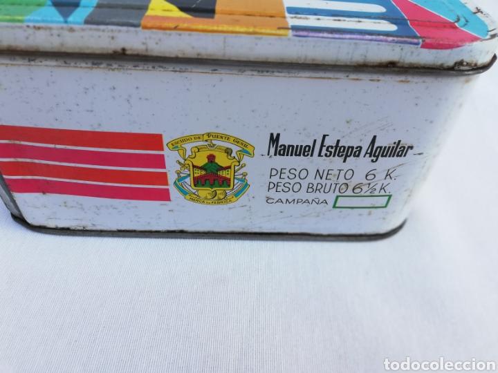 Cajas y cajitas metálicas: CAJA METALICA DULCE MEMBRILLO. ESTEPA. PUENTE GENIL. - Foto 4 - 136113085