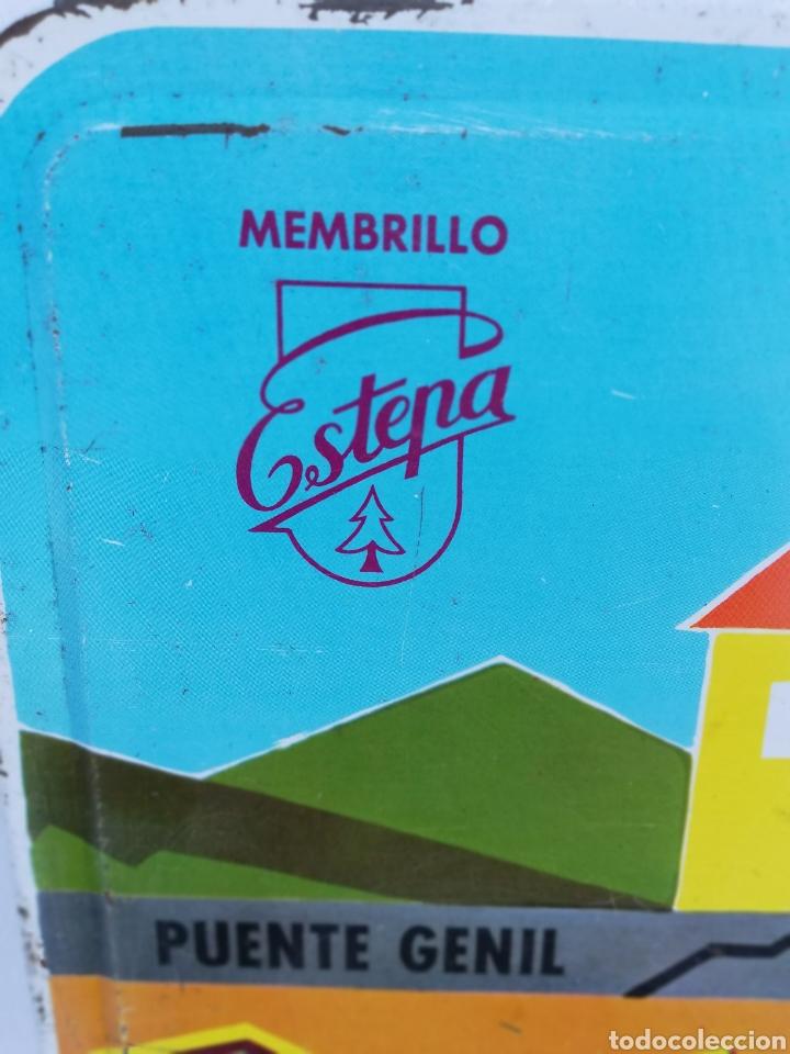 Cajas y cajitas metálicas: CAJA METALICA DULCE MEMBRILLO. ESTEPA. PUENTE GENIL. - Foto 10 - 136113085