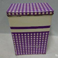 Cajas y cajitas metálicas: COLA CAO - ANTIGUA CAJA DE COLA CAO . Lote 136273106