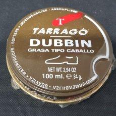 Cajas y cajitas metálicas: CAJA CREMA ZAPATOS - TARRAGO DUBBIN - CAR116. Lote 136417436