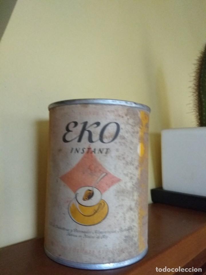 LATA EKO INSTANT (Coleccionismo - Cajas y Cajitas Metálicas)