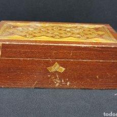 Cajas y cajitas metálicas: CAJA DE MADERA - CAR118. Lote 137174340