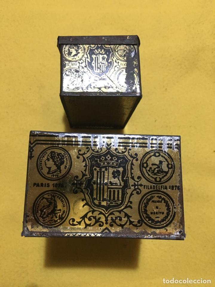 Cajas y cajitas metálicas: Caja hojalata Salamanca Mirat e Hijo - Foto 5 - 137449013