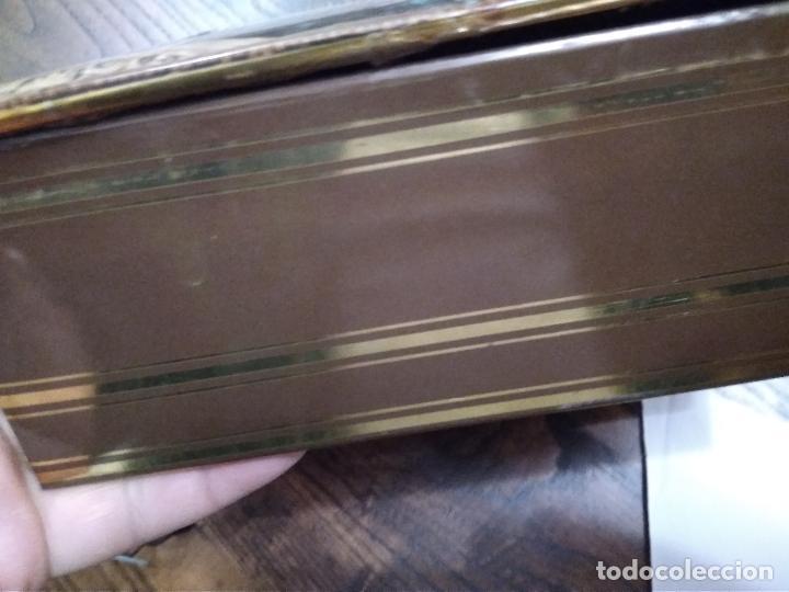 Cajas y cajitas metálicas: CAJA AÑOS 70 METAL LITOGRAFIADO - Foto 4 - 137916198
