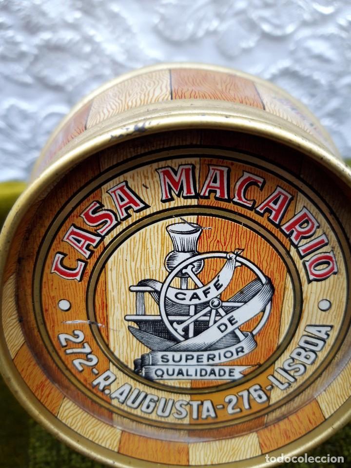 Blechdosen und Kisten: Bote de cafe Casa Macario, Lisboa, hacia 1950. - Foto 5 - 138621434