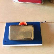Casse e cassette metalliche: MEDICINA FARMACIA BONITA CAJA ACERO INOXIDABLE SERONO-BRUSCHETTINI-LEPORI AÑOS 40 80 X 125 MM. Lote 138684286