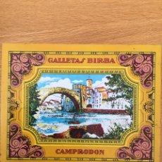Cajas y cajitas metálicas: CAJA GALLETAS BIRBA AÑO 1994. Lote 138867229