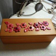 Cajas y cajitas metálicas: CAJA MADERA . Lote 139110822