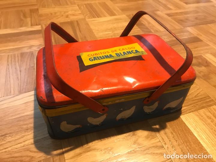 Cajas y cajitas metálicas: Caja metalica caldo de gallina blanca - Foto 2 - 139257410