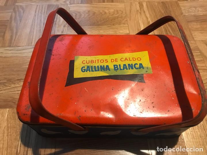 Cajas y cajitas metálicas: Caja metalica caldo de gallina blanca - Foto 4 - 139257410