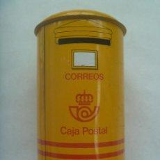 Cajas y cajitas metálicas: HUCHA DE METAL EN FORMA DE BUZON DE CORREOS DE LA ANTIGUA CAJA POSTAL . Lote 139350902