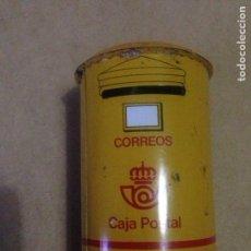 Cajas y cajitas metálicas: HUCHA DE CORREOS,CAJA POSTAL.. Lote 130019854