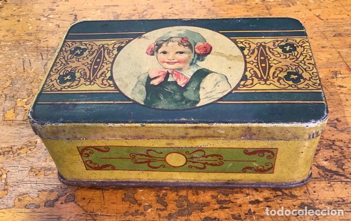 Cajas y cajitas metálicas: CAJA METÁLICA, AÑOS 20/30 - Foto 2 - 139497346