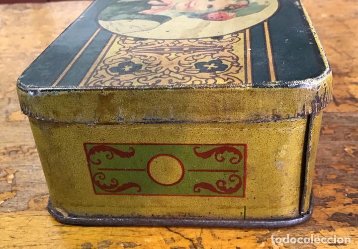 Cajas y cajitas metálicas: CAJA METÁLICA, AÑOS 20/30 - Foto 3 - 139497346