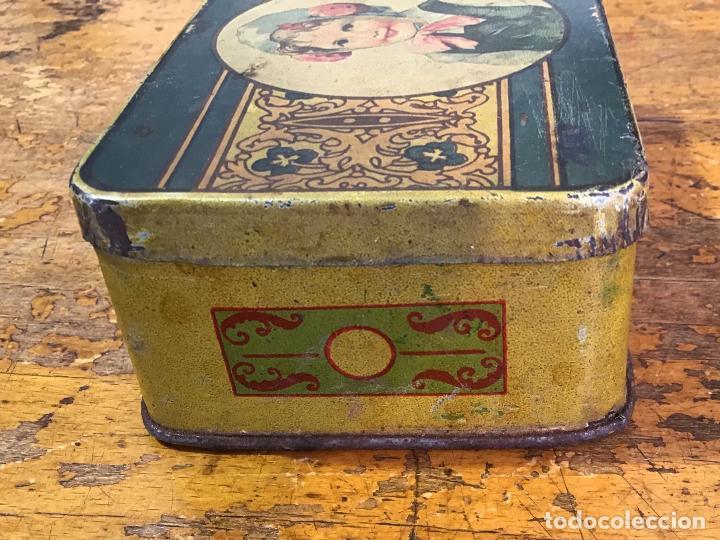 Cajas y cajitas metálicas: CAJA METÁLICA, AÑOS 20/30 - Foto 4 - 139497346