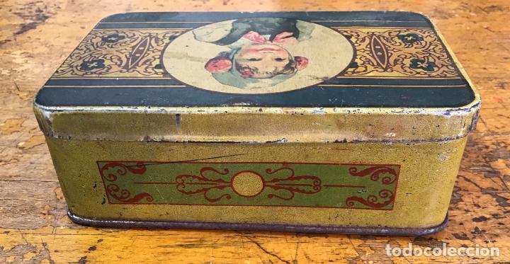 Cajas y cajitas metálicas: CAJA METÁLICA, AÑOS 20/30 - Foto 5 - 139497346