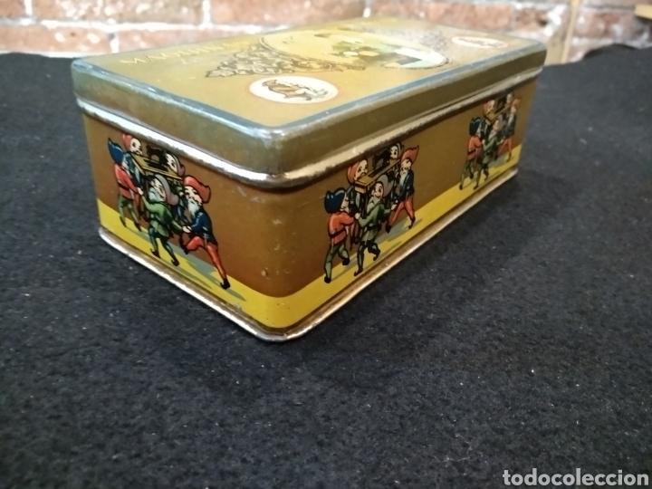 Cajas y cajitas metálicas: CAJA METÁLICA MÁQUINAS WERTHEIM PARA COSER. - Foto 2 - 140031789