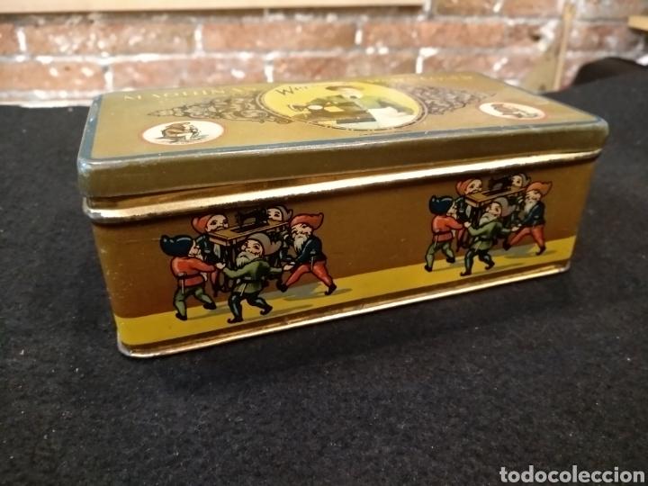 Cajas y cajitas metálicas: CAJA METÁLICA MÁQUINAS WERTHEIM PARA COSER. - Foto 3 - 140031789