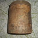 Cajas y cajitas metálicas: CAJA METALICA DE CARAMELOS MUY ANTIGUA. Lote 140155826