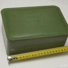 Cajas y cajitas metálicas: CAJA GRANDE BAQUELITA . Lote 140296374