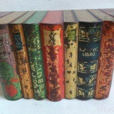 Cajas y cajitas metálicas: CAJA HOJALATA LIBROS HUNTLEY & PALMER . Lote 140884418