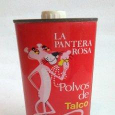 Cajas y cajitas metálicas: POLVOS DE TALCO « LA PANTERA ROSA». Lote 140890050