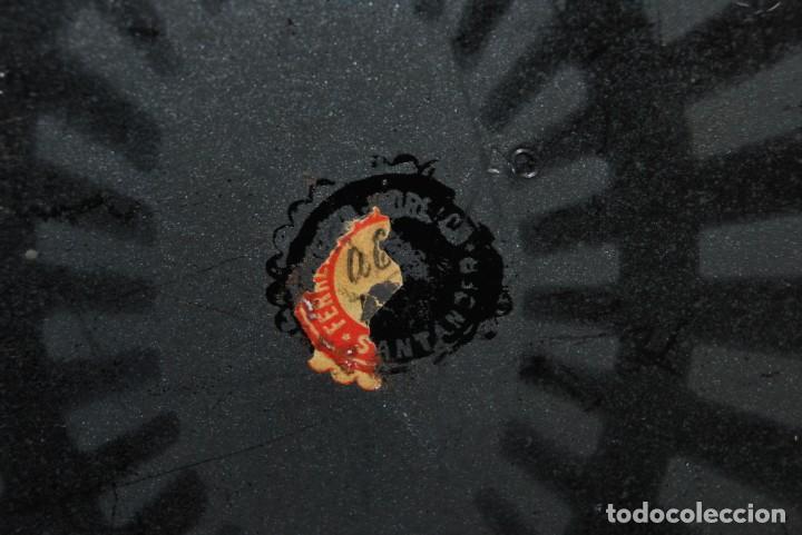 Cajas y cajitas metálicas: CAJA DE CAUDALES - CAJA DE SEGURIDAD METÁLICA - BANDEJA INTERIOR - AÑOS 20-30 - Foto 10 - 140984878