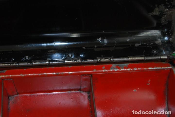 Cajas y cajitas metálicas: CAJA DE CAUDALES - CAJA DE SEGURIDAD METÁLICA - BANDEJA INTERIOR - AÑOS 20-30 - Foto 14 - 140984878