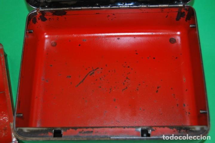 Cajas y cajitas metálicas: CAJA DE CAUDALES - CAJA DE SEGURIDAD METÁLICA - BANDEJA INTERIOR - AÑOS 20-30 - Foto 18 - 140984878