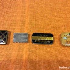 Cajas y cajitas metálicas: CAJITAS PASTILLEROS METÁLICAS LOTE 4. Lote 141234558