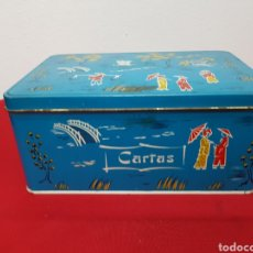 Cajas y cajitas metálicas: CAJA COLA-CAO HOJALATA VINTAGE. Lote 141493605