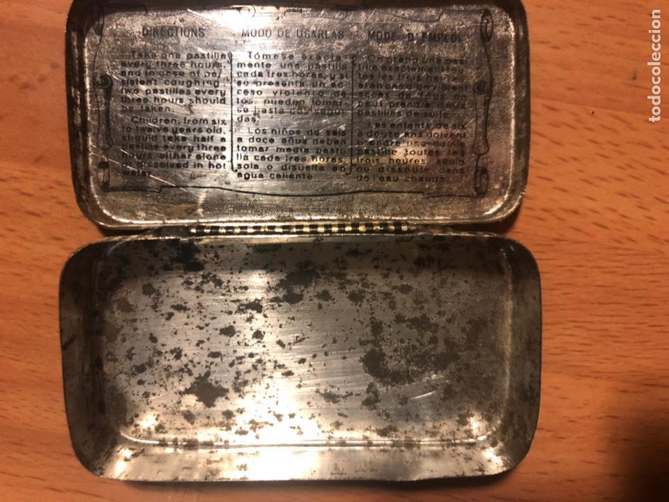Cajas y cajitas metálicas: Caja de hojalata pasta pectoral dr andreu tos - Foto 3 - 80196346