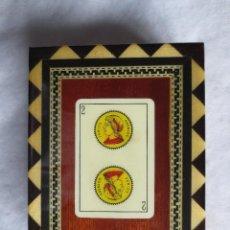 Blechdosen und Kisten - CAJA DE MARQUETERIA PARA GUARDAR CARTAS - 141887986